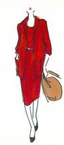 11-Halston Original, LO RES red dress, spring 1975
