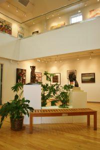 Gallery View LI Artists Exhibit looking up (2)
