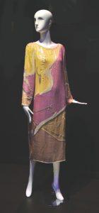 May 21-Yellow-mauve dress